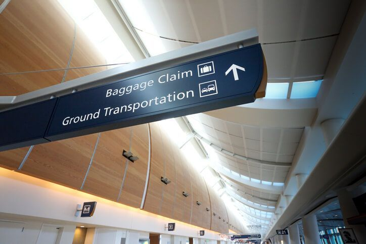 baggage-claim-direction-sign