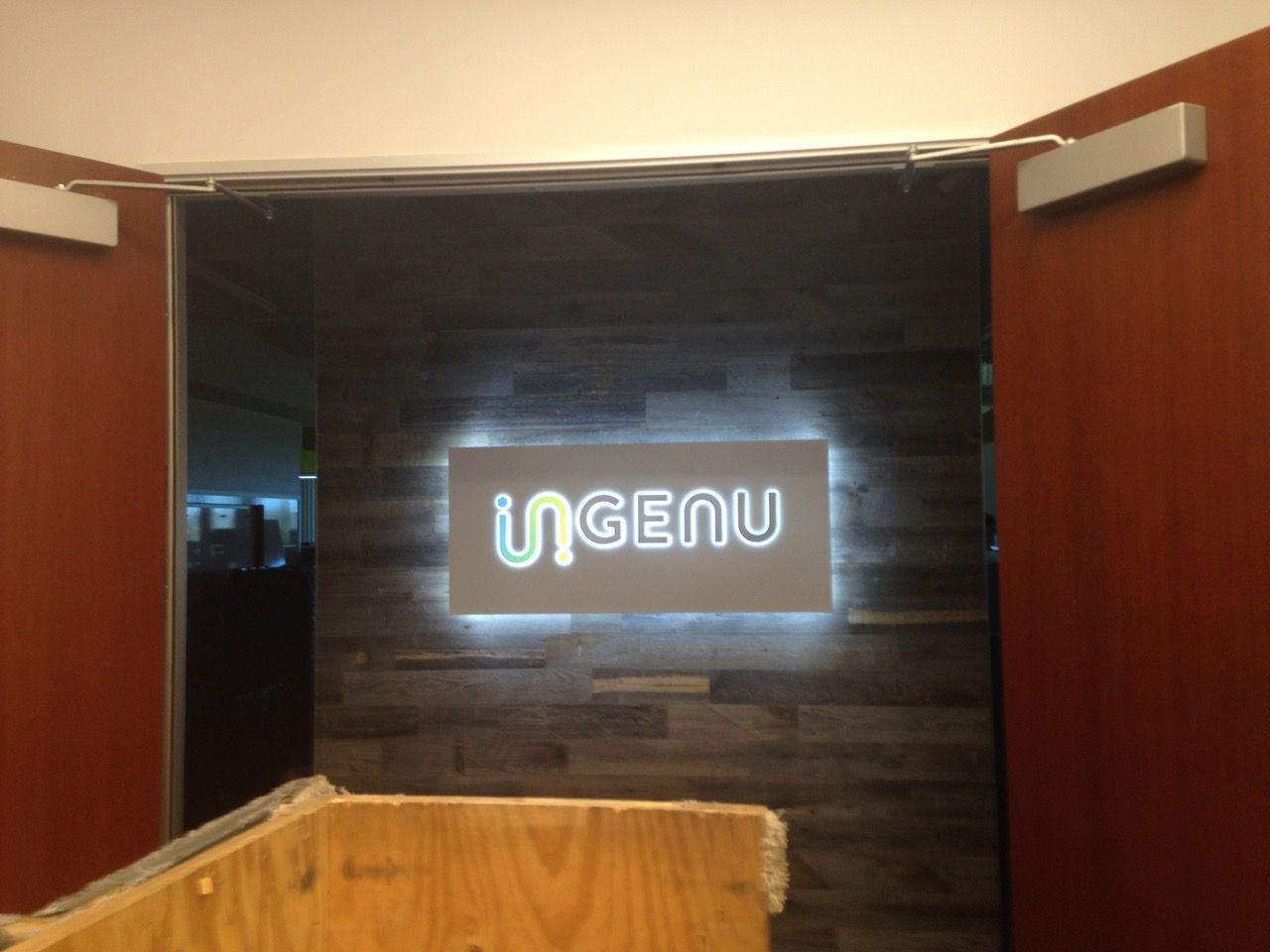 LED Office Sign
