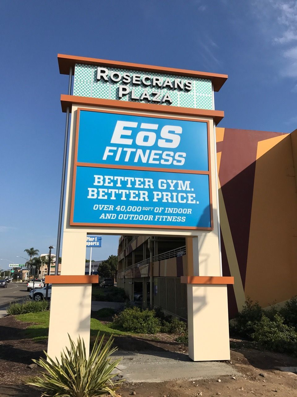 Fitness Plaza Signs