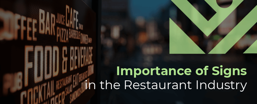 importance of restaurant signs