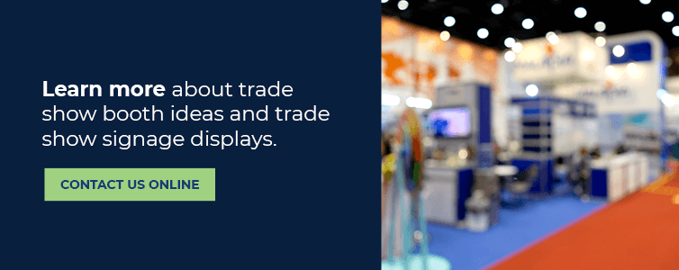 trade show booth sign manufacturer