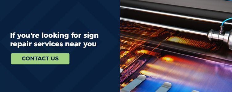 repair your signs with ISA