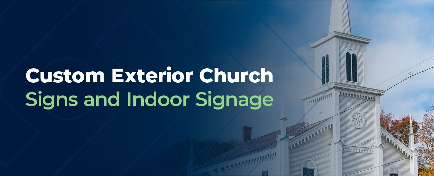 custom outdoor church signs